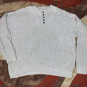 Men's vintage Eddie Bauer knit sweater.